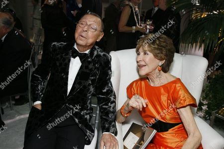 James Galanos and Betsy Bloomingdale