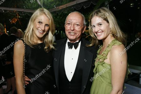 Hayley Bloomingdale, David Jones and Jane Bloomingdale-Cisneros