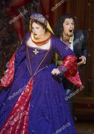 Quirijn de Lang as Pertruchio, Jeni Bern as Katharine