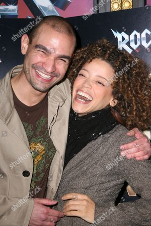 Stock Picture of Javier Munoz, Marcy Harriell