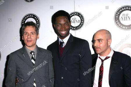 Stock Image of Bruce Norris, Tarell Alvin McCraney, David Adjmi