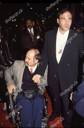 Ron Kovic and Oliver Stone