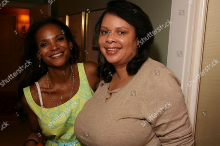 Dr. Lisa Masterson and Angele Price