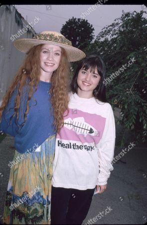 Khrystyne Haje and Danica McKellar