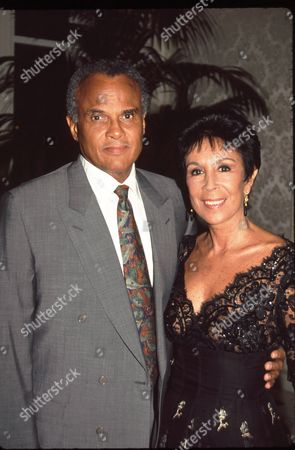 Harry Belafonte and wife Julie