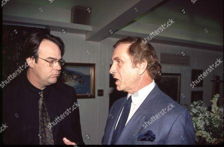 Dan Aykroyd and Peter Mark Richman