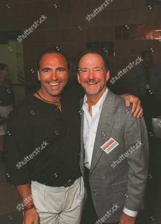"""20001017    ,      Los Angeles,   CA Naturalist Dean Bernal and Director Greg MacGillivray at the Los Angeles Premiere of the IMAX film """"Dolphins""""  to benefit the American Oceans Campaign. Photo®Ryan Miller/Berliner Studio/BEI     A010489-17"""