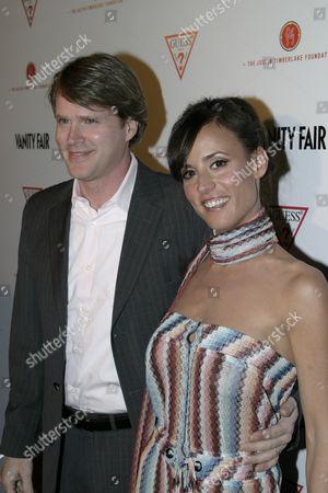 Cary Elwes and  Lisa Marie Kurbikoff