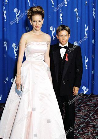 Molly Ringwald and Jonathan Taylor Thomas