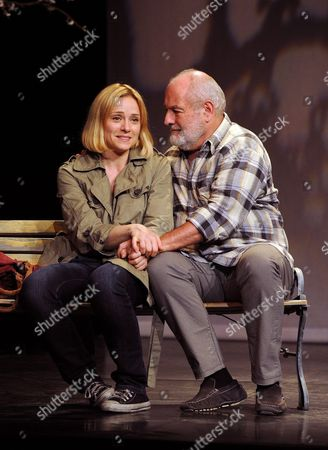 Delphine Depardieu and Michel Voletti