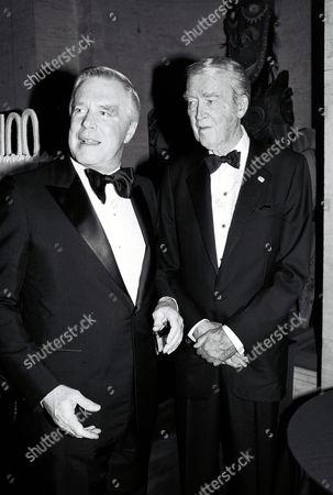 George Peppard and Jimmy Stewart