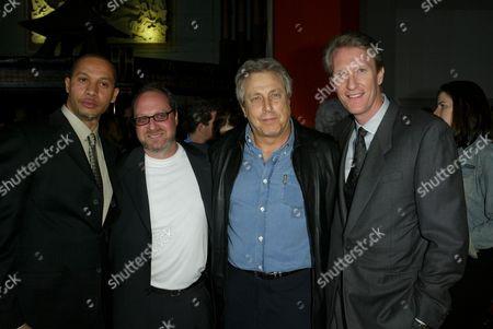 Paul Hunter, Douglas Siegel, Chuck Roven & Chris McGurk