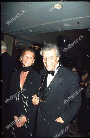 Nino Cerruti and Chantal Cerruti