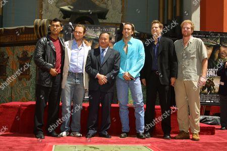 Adam Beach, Christian Slater, John Woo, Nicolas Cage, Brian Van