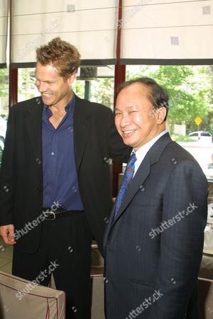 Brian Van Holt and Director John Woo