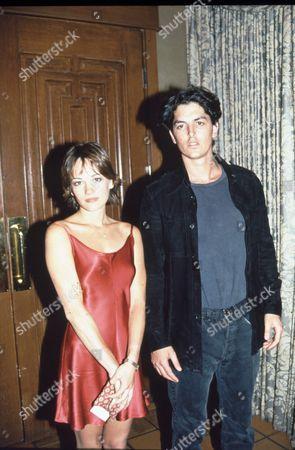 Stock Picture of Natasha Wagner and Josh Evans