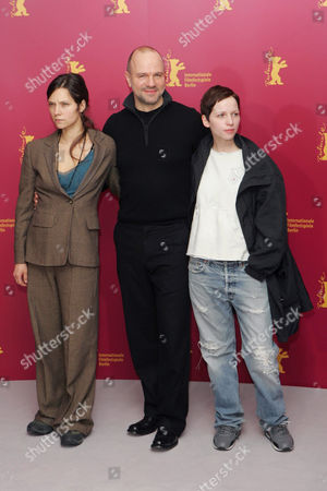 Sabine Timoteo, Aurelien Recoing and Julia Hummer 'Gespenster' film photocall