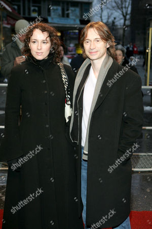Anastasia Shirley and Robert Carlyle at 'The Mighty Celt' film premiere