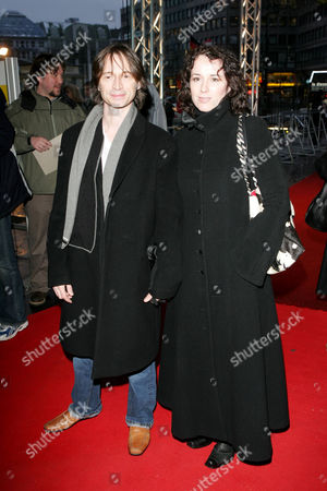 Robert Carlyle and wife Anastasia Shirley at 'The Mighty Celt' film premiere