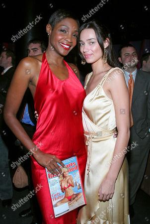 Roshumba Williams and Alicia Hall