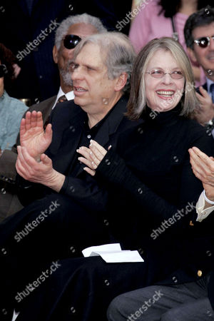 Jonathan Dolgen and Diane Keaton