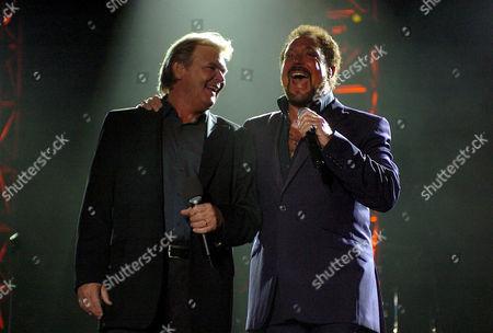 John Farnham and Tom Jones