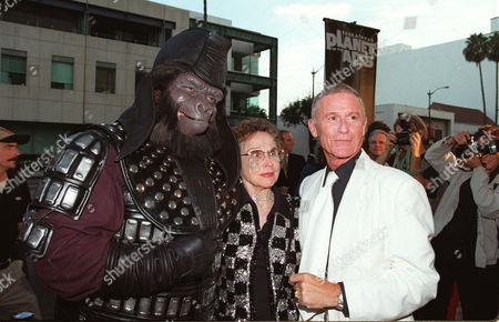 Kim Hunter and Roddy McDowall