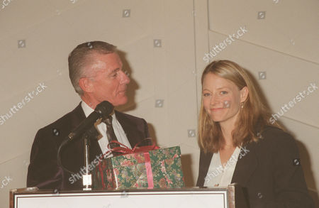 Jodie Foster and Roddy McDowall