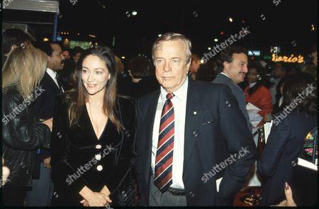 Olivia Hussey and Franco Zeffirelli