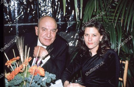 Telly Savalas and Julie Hovland