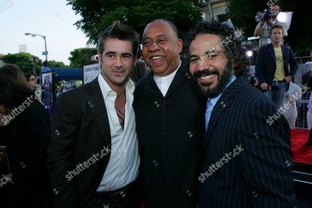 Colin Farrell, Barry Shabaka Henley and John Ortiz