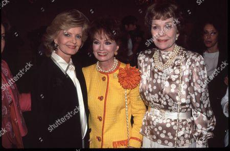 Florence Henderson, Ann Blyth and Jane Wyman