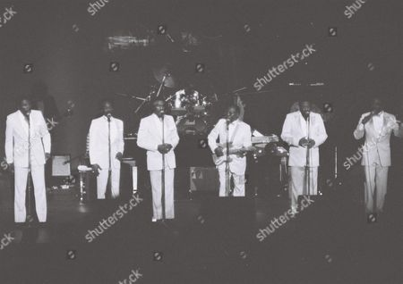 Editorial picture of The Impressions with Curtis Mayfield