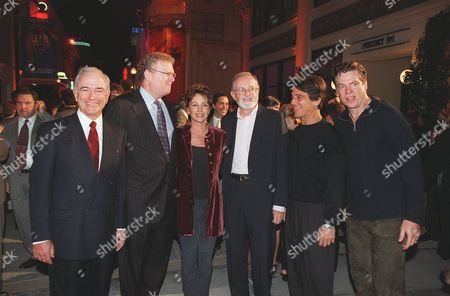 09/27/00      Culver City Mel Harris, (President & COO, SPE), Howard Stringer, Kathleen Quinlin (Family Law), John Calley, Tony Danza (Family Law), and Christopher McDonald (Family Law) at Columbia TriStar Television's Season Launch Party at Sony Studios. Photo®Alex Berliner/BEI            A009650-12