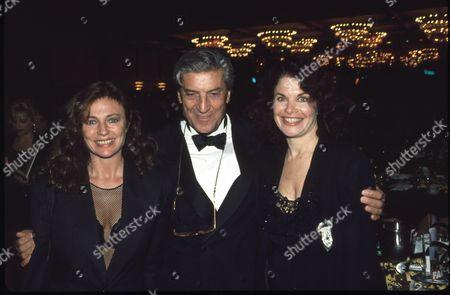 Jacqueline Bisset, Nino Cerruti and Sherry Lansing