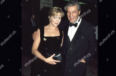 Kathleen Turner and Nino Cerruti
