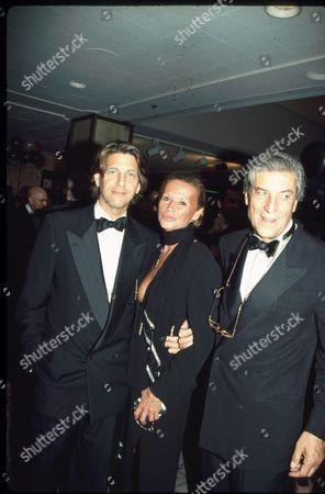Peter Coyote, Chantal and Nino Cerruti