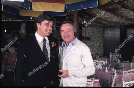 Patrick Terrail and Jack Lemmon