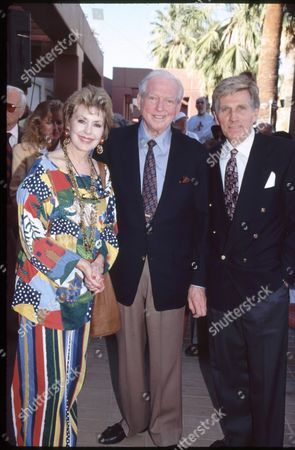 Mary Ann Mobley, Sidney Sheldon and Gary Collins