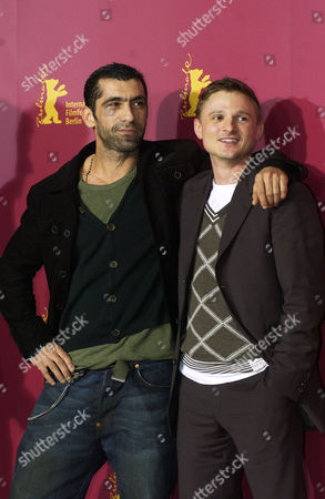 Erdal Yildiz and Florian Lukas at film photocall for 'One Day In Europe'