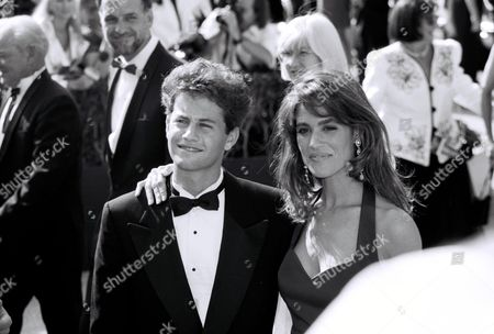 Stock Picture of Kirk Cameron and Chelsea Noble