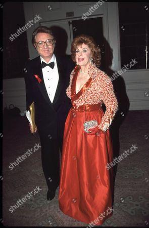 Steve Allen and Jayne Meadows