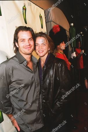 Tim Olyphant with his wife Alexis