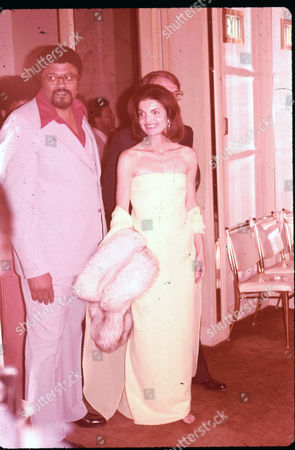 Roosevelt 'Rosey' Grier and Jackie Kennedy Onassis