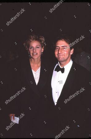 Ellen Degeneres and Arye Gross