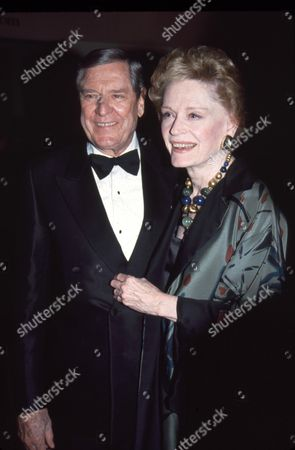 Craig Stevens and wife Alexis Smith