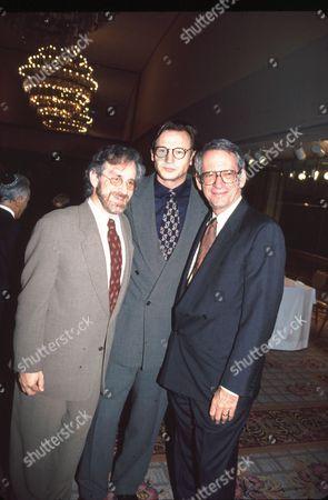 Steven Spielberg, Liam Neeson & Sid Sheinberg