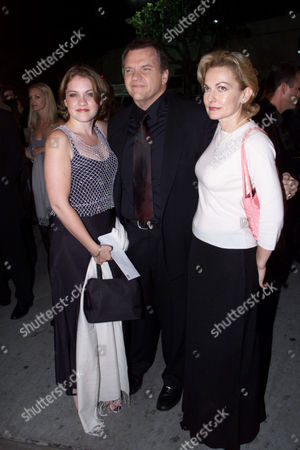 Stock Photo of Amanda Aday, Meatloaf and Leslie Edmonds