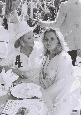 Zsa Zsa Gabor and daughter Francesca Hilton