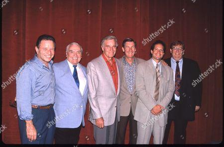 Ernest Borgnine, Charlton Heston, Steve Guttenberg & John Candy